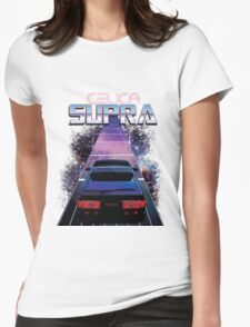 Space Supra Womens Fitted T-Shirt