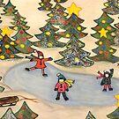 Christmas Tree Pond by Marsha Free