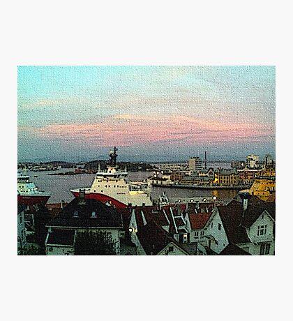 """""""Ocean View - Stavanger, Norway"""" Photographic Print"""