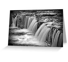 Aysgarth Falls, North Yorkshire Greeting Card