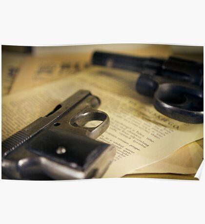 WW2 guns Poster