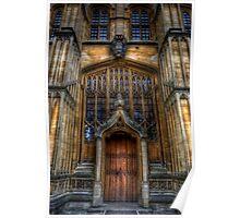 Bodleian Library Door Poster