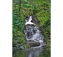Landscape, River, Kenick Burn, Lauriston Forrest, Waterfall Photographic Print