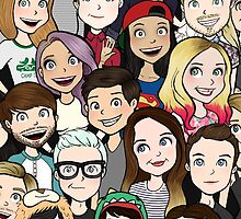 Youtubers by LazyDaisy