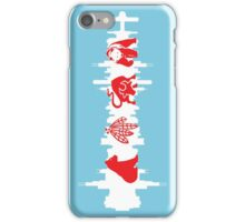 Chicago Flag with Skyline iPhone Case/Skin