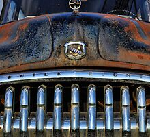 Old Grille by Michelle  Edwards Insights Photography