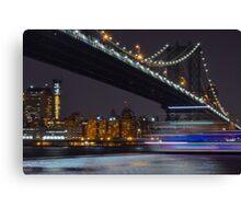 New York Minute  Canvas Print