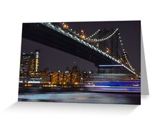 New York Minute  Greeting Card