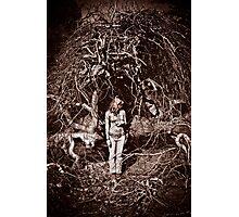 Eerie bush Photographic Print