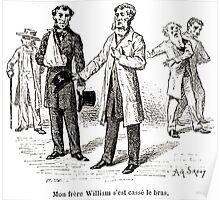 Achille Sirouy Mark Twain Les Aventures de Huck Huckleberry Finn illustration p193 Poster