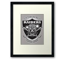 Raiders! Framed Print