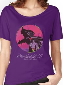 EVA 01 - Evangelion T-shirt / Poster / Phone case / Mug Women's Relaxed Fit T-Shirt