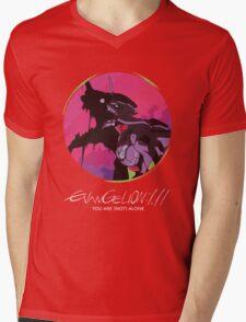 EVA 01 - Evangelion T-shirt / Poster / Phone case / Mug Mens V-Neck T-Shirt