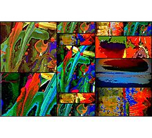 Deep Sea Quilt Photographic Print