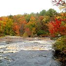 Raging Raquette River by linmarie