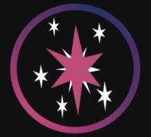 Twilight Sparkle Cutie Mark (Bordered) by Loathingeyes