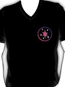 Twilight Sparkle Cutie Mark (Bordered) T-Shirt