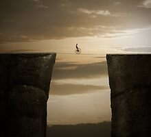On the edge by Alshain