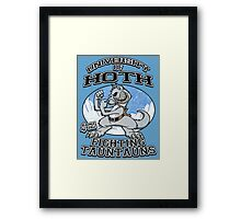Fighting Tauntauns Framed Print