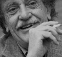Kurt Vonnegut Black and White Portrait Sticker