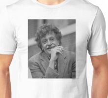 Kurt Vonnegut Black and White Portrait Unisex T-Shirt