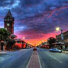 Main Street Sunrise by Rod Wilkinson