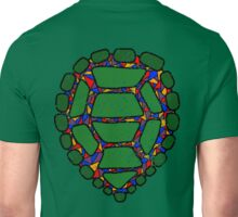 Stained Glass Turtle Unisex T-Shirt