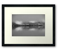 Eerie Skyline Framed Print