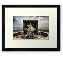 Second World War Cannon Framed Print