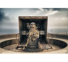 Second World War Cannon Photographic Print