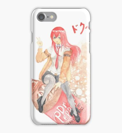 Makise Chris, blasting off! iPhone Case/Skin