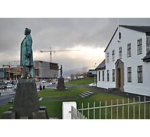 Reykjavik, as I remember it Photographic Print