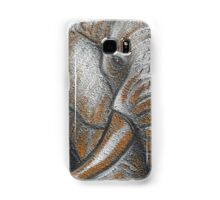 Orange Elephant Canvas Art Samsung Galaxy Case/Skin