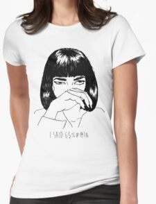 Mia Wallace Womens Fitted T-Shirt