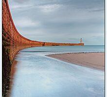 Seaham Harbour, UK. by Ian Yarrow