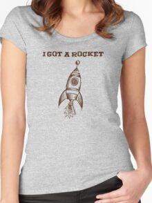 I Got A Rocket Women's Fitted Scoop T-Shirt