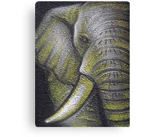 Yellow Elephant Canvas Print Canvas Print