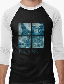 Old France Men's Baseball ¾ T-Shirt