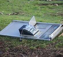 A Telstra Phone Box didn't survive Cyclone Yasi - Cardwell, North Queensland by myhobby