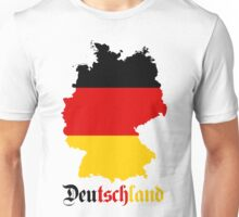Germany Flag Map Unisex T-Shirt