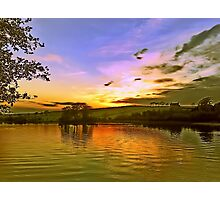 Lochy Sunset Photographic Print