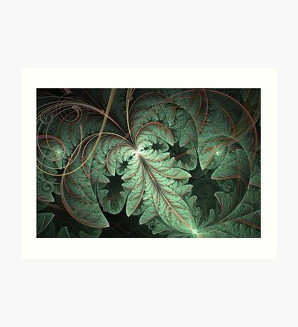 Breach - Vine Foliage Art Print