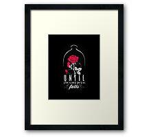 Enchanted Rose. Framed Print