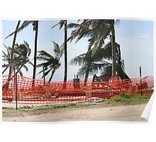 nothing left of this home after Cyclone Yasi - Tully Heads, North Queensland, Australia Poster
