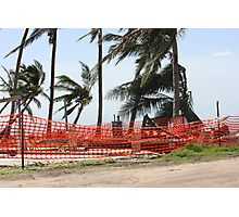 nothing left of this home after Cyclone Yasi - Tully Heads, North Queensland, Australia Photographic Print