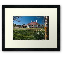 Home in Ben Lomond Framed Print