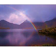 Rainbow at Cradle Mountain Photographic Print