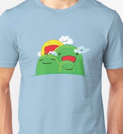 Hills and Clouds Unisex T-Shirt