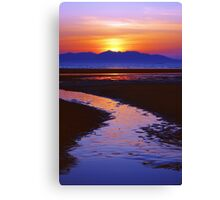 Island Night Canvas Print