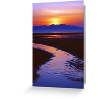 Island Night Greeting Card
